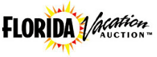 Florida Vacation Auctions Logo